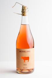 Rosé Prosa Frizzante Meinklang, Burgenland Oostenrijk. Biodynamische wijn.
