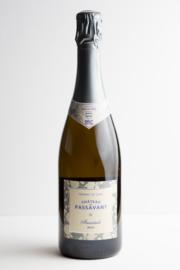 Crémant de la Loire brut, Château de Passavant, Frankrijk. Biodynamische wijn.