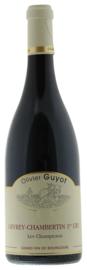 Gevrey-Chambertin 1er Cru Champeaux, Domaine Guyot, Bourgogne. Biodynamische wijn.