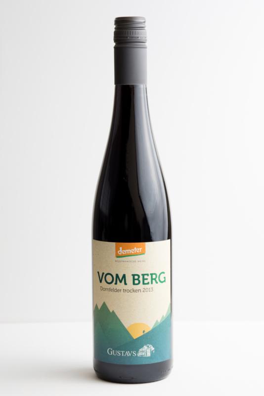 Dornfelder Trocken Gustavshof Rheinhessen. Biodynamische wijn.