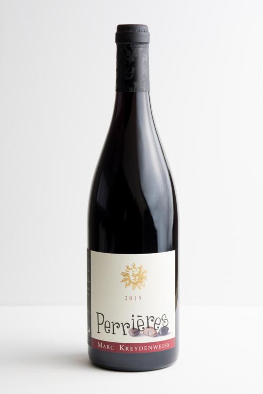 Kreydenweiss Perrières Costières de Nîmes, Gard. Biodynamische wijn.