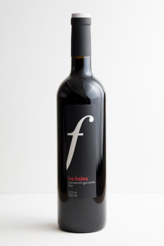 Monastrell Barrica, Bodegas Los Frailes. Valencia. Biodynamische wijn. ACTIEPRIJS € 8,45