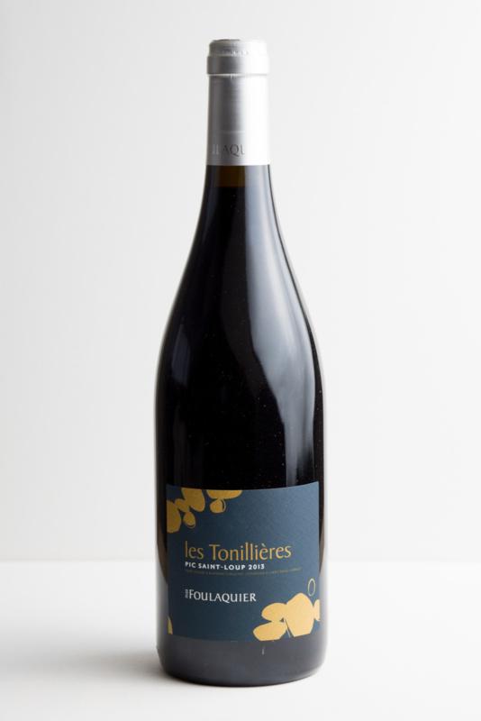 """Coteaux du Languedoc, Pic Saint Loup rouge """"Tonillières"""" 2013. Biodynamische wijn."""