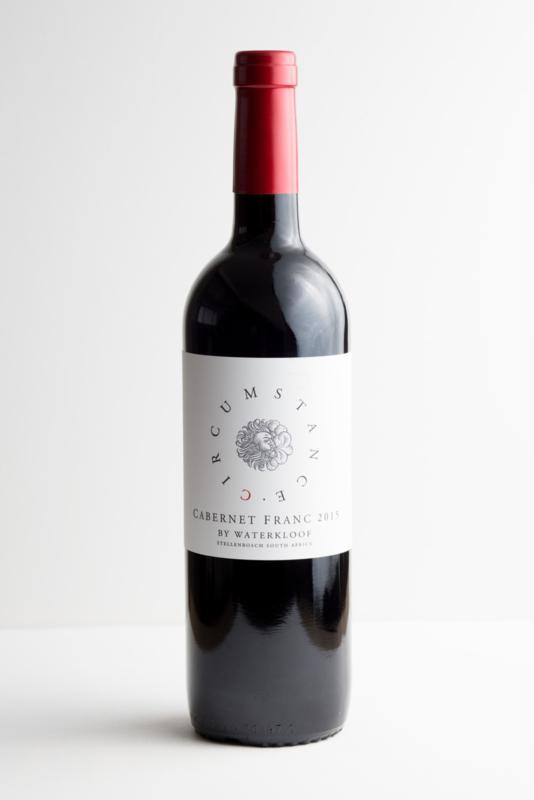 Waterkloof Circumstance Cabernet Franc, Stellenbosch, Zuid Afrika. Biodynamische wijn.