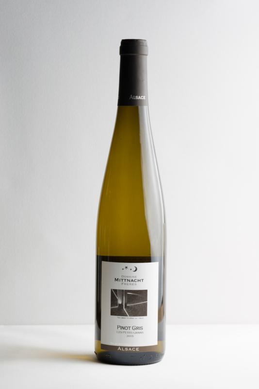 Mittnacht Pinot Gris, Elzas. Biodynamische wijn.