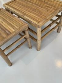 Bamboe tafel, ook voor buiten