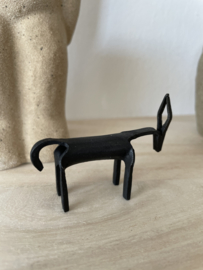 Black iron deer mini