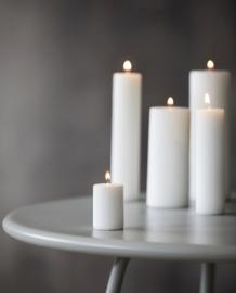 Witte stomp kaarsen