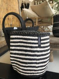 Basket streep zwart wit