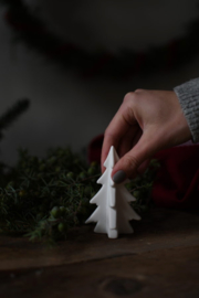 Keramiek dennenboom 10 cm