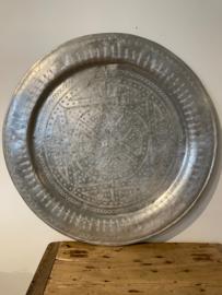 Orginele vintage schaal uit Marokko 76cm