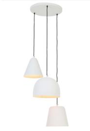 Hanglampen, mat wit