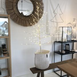 Witte kerstboom lichtjes