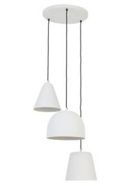 Mat witte hanglampen
