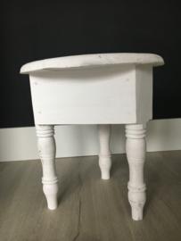 Wit tafeltje bohemian