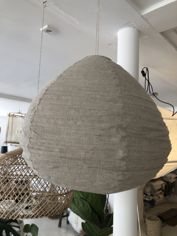 Linnen lampion  lamp