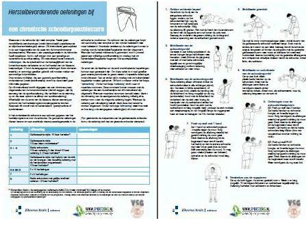 Chronische schouderpeesblessure (100 vel)
