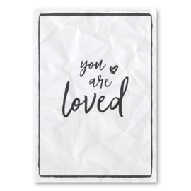 A5 - Canvas poster - You are loved