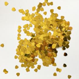 Confetti: Kleine gouden hartjes