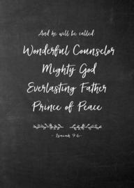 Poster A4,  Isaiah 9