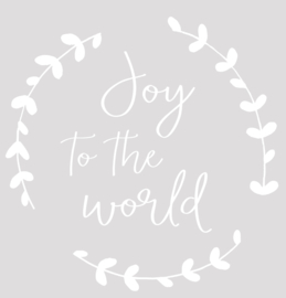 'Joy to the world' wit