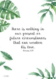 Poster A4, Romans 8:39