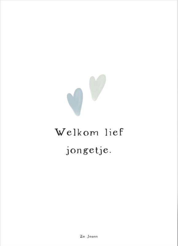 1807 - Welkom lief jongetje