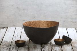 Paper bowl black