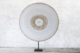 Beaded  shield large