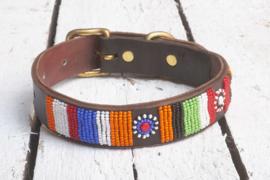 Halsband kleurrijk L