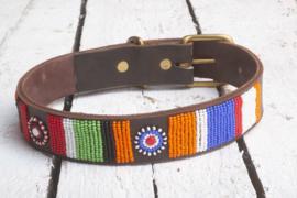 Halsband kleurrijk M