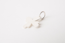 Zilveren bloem