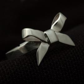 Zilveren strikring
