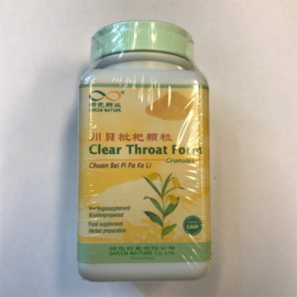 Chuan Bei Pi Pa Ke Li - Clear Throat Granules - Clear Throat Form