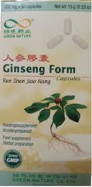 Ginseng Form Capsules - Ren Shen Jiao Nang