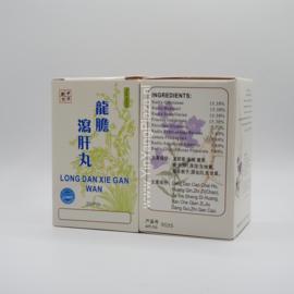 Long Dan Xie Gan Wan - Gentiana Form - 龍膽瀉肝丸
