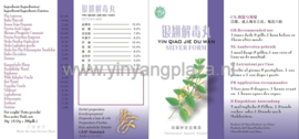 Yin Qiao Jie Du Wan - Silver Form - 银翘解毒丸