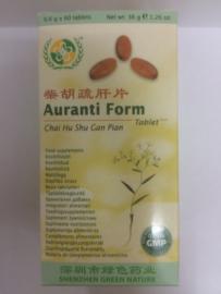 Chai Hu Shu Gan Pian - Auranti Form