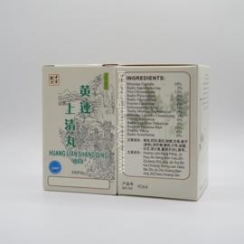 Huang Lian Shang Qing Wan - Coptis Form - 黃連上清丸