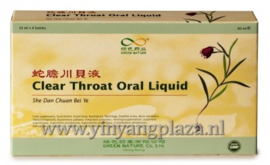 She Dan Chuan Bei Ye - Clear Throat oral liquid 6 flesjes