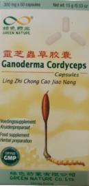 Ganoderma Cordyceps Capsules - Ling Zhi Chong Cao Jiao Nang