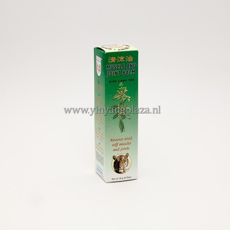 Qing Liang You - Muscle and Joint Balm red