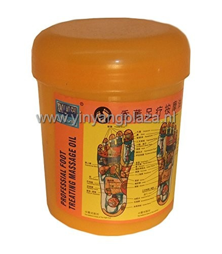 Xiang Xun Zu Liao An Mo You - Professional Foot Treating Massage Oil