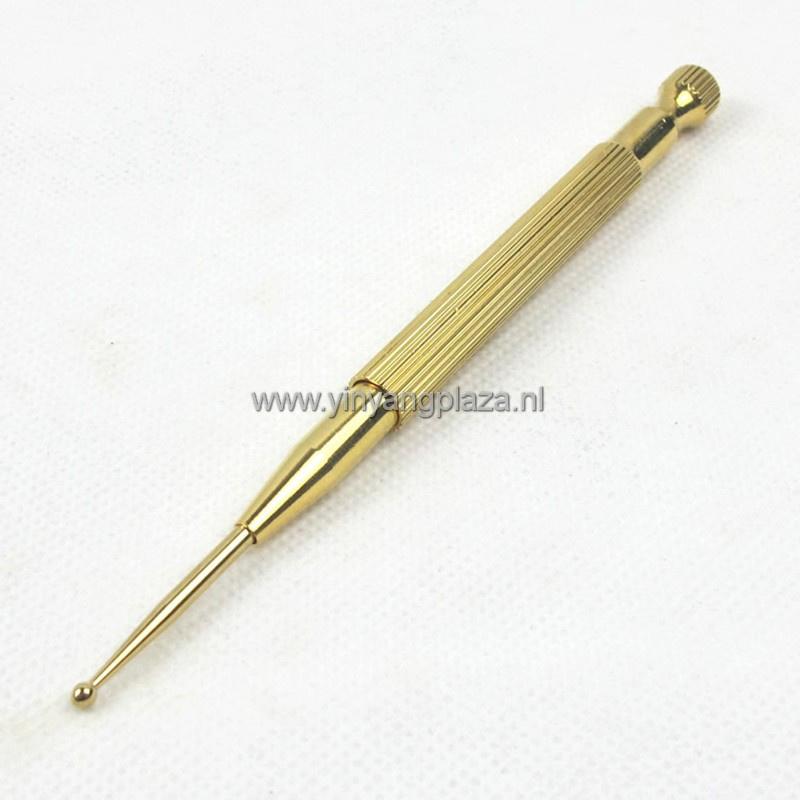 Acupressuur pen met springveer