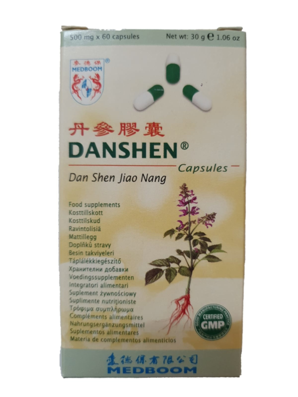 Danshen Capsules - Dan Shen Jiao Nang