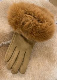 Handschoenen Chloe Camel