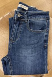 Jewelly Skinny Jeans Blue JW357