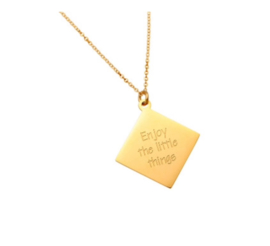 "Ketting ""Enjoy The Little Things"""