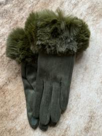 Handschoenen Chloe Army Groen
