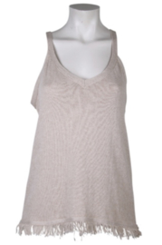 BINDI Top Lily Coton Knit Beige